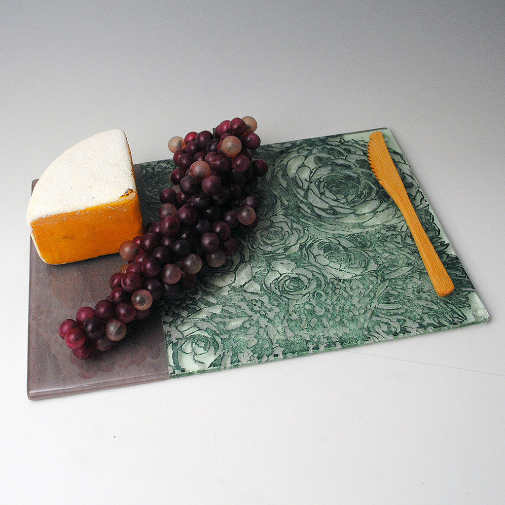 Succulents Cheese Plate