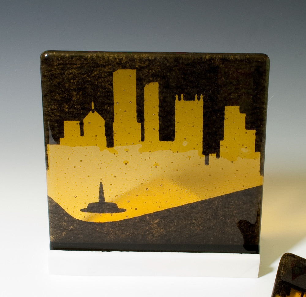 "Custom ""Greetings from Your City"" Trivet"