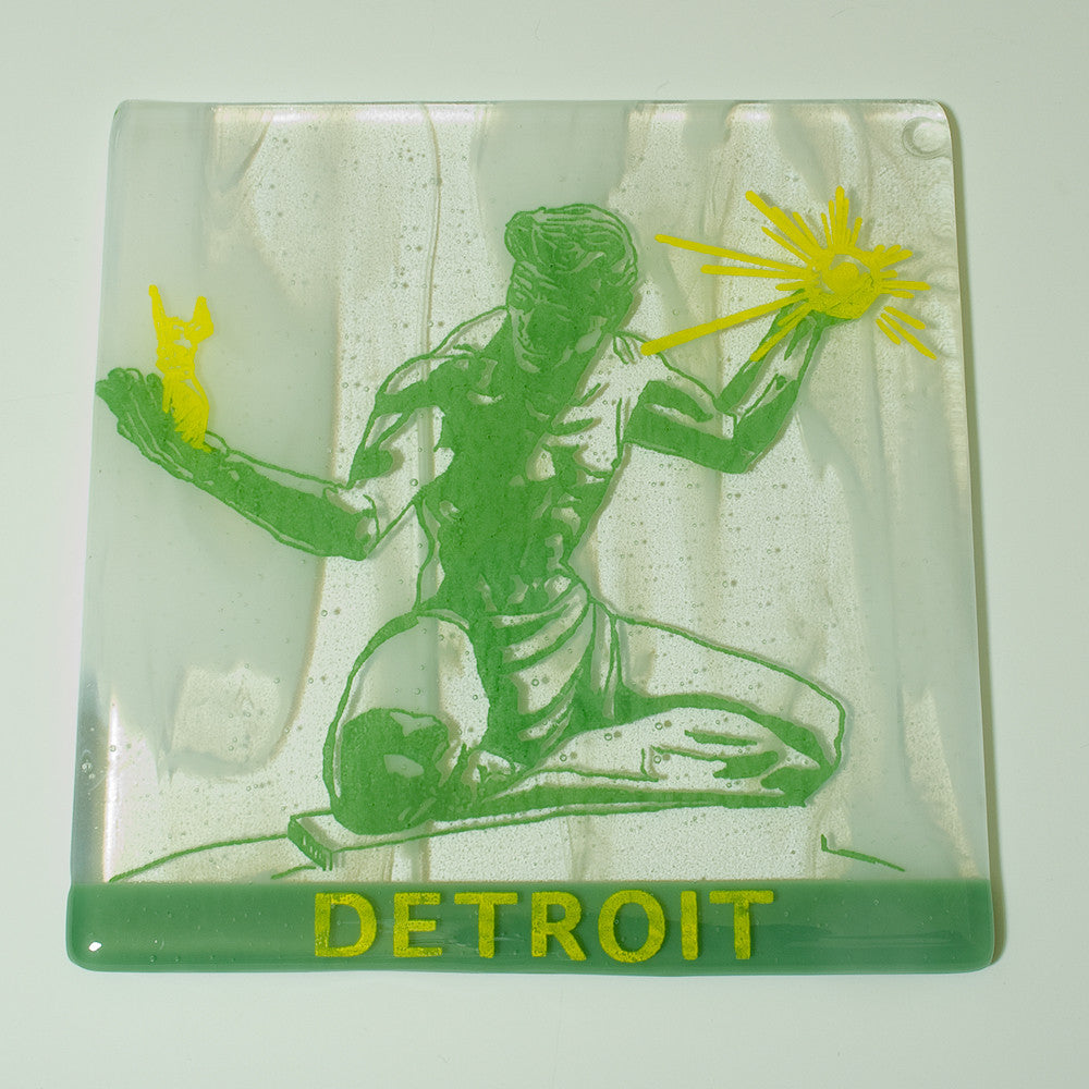 "Detroit ""Spirit of Detroit"" Trivet"