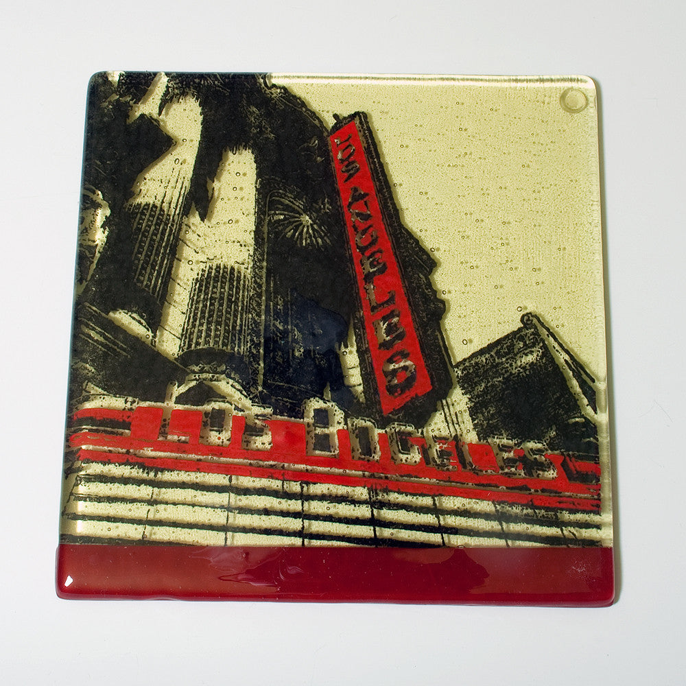 "Los Angeles ""Los Angeles Theater"" Trivet"
