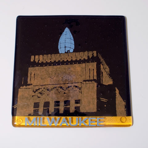 "Milwaukee ""Wisconsin Gas Building"" Trivet"