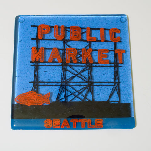 "Seattle ""Pike Place"" Trivet"