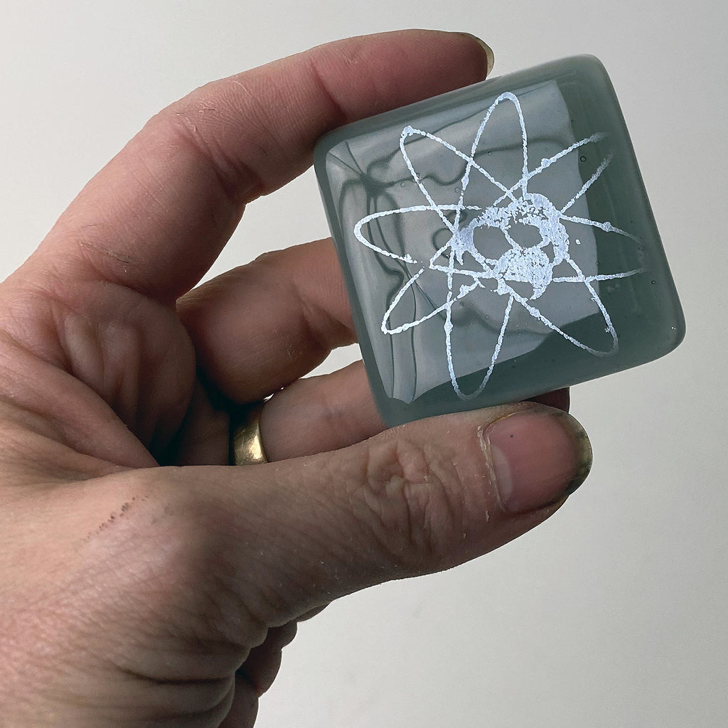 Atom Fused Glass Magnet