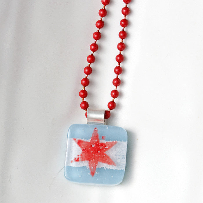 Chicago Star Mini Necklace