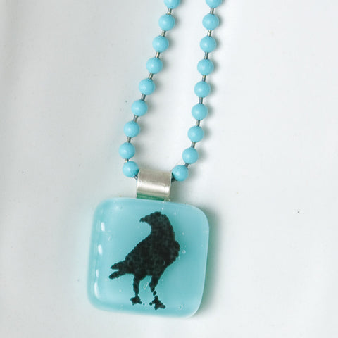 Crow Mini Necklace