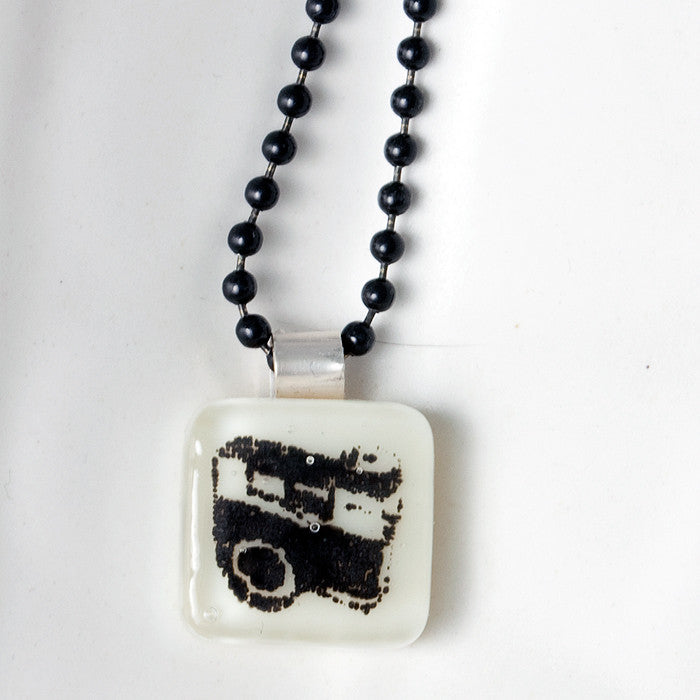 Camera Mini Necklace