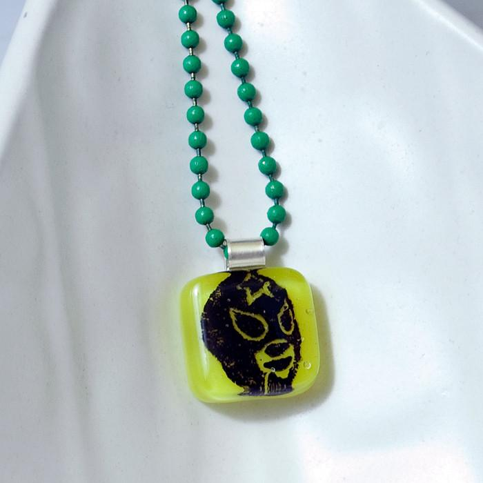 Luchador Mini Necklace