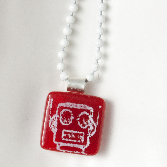 Robot Mini Necklace