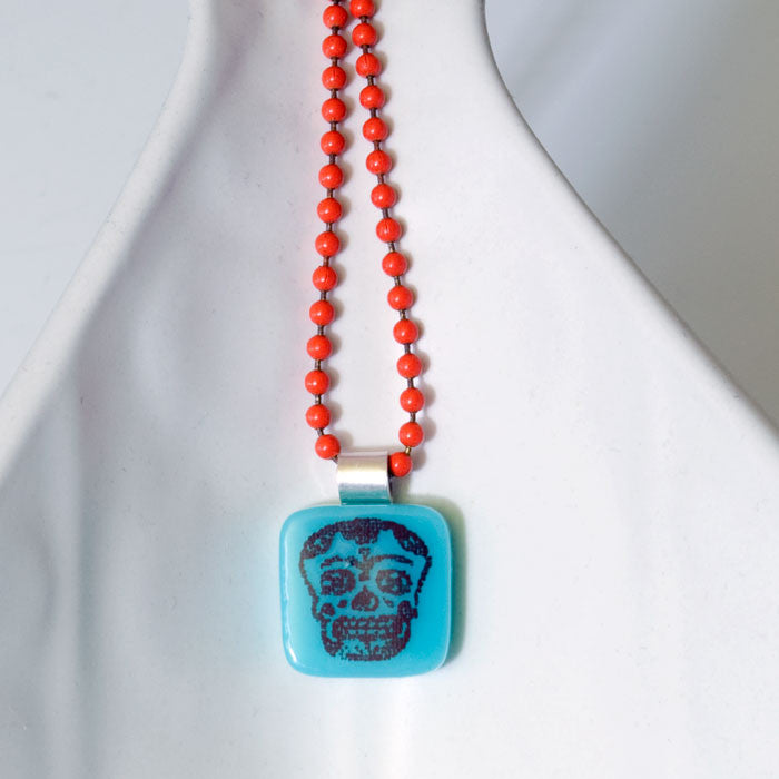 Calavera Mini Necklace
