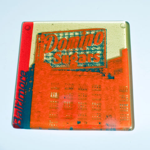 "Baltimore ""Domino Sugars"" Trivet"