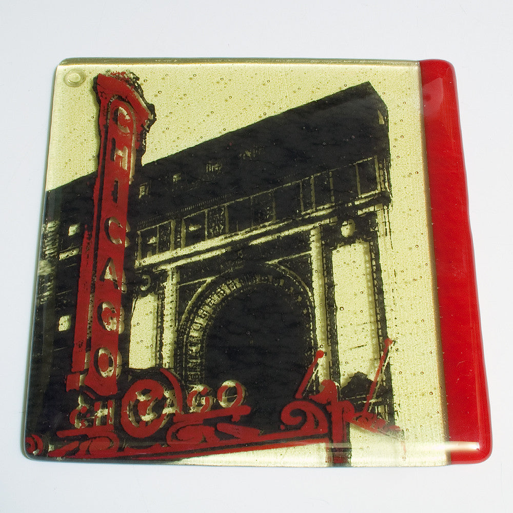 "Chicago ""Theater"" Trivet"