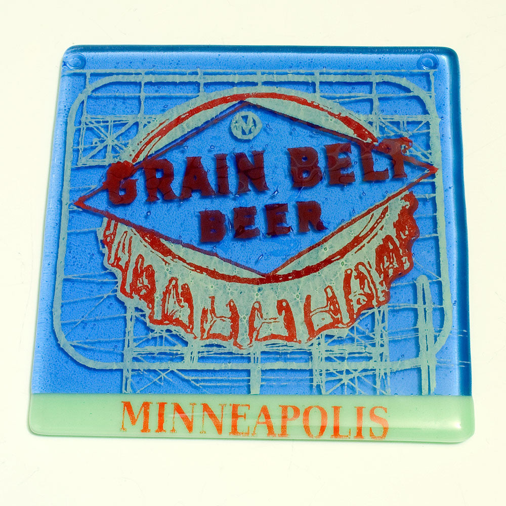 "Minneapolis ""Grain Belt Beer"" Trivet"