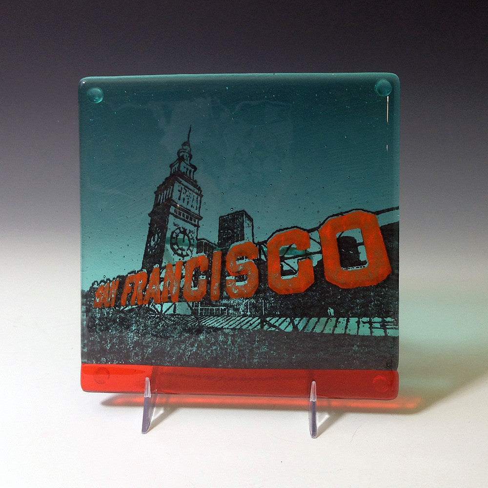 "San Francisco ""Ferry Building"" Trivet"