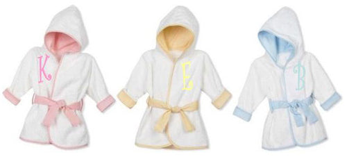 Monogrammed Infant Robes - KABOLILLIE monogrammed gifts
