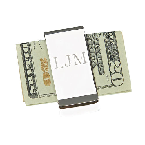 Personalized Money Clip - KABOLILLIE monogrammed gifts