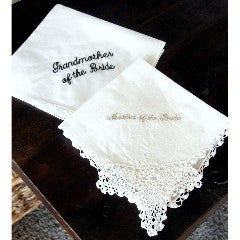 Personalized Linen Hankerchief - KABOLILLIE monogrammed gifts