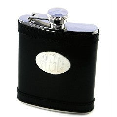 Personalized Leather Flasks - KABOLILLIE monogrammed gifts