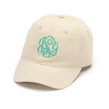 Monogrammed Caps - KABOLILLIE monogrammed gifts