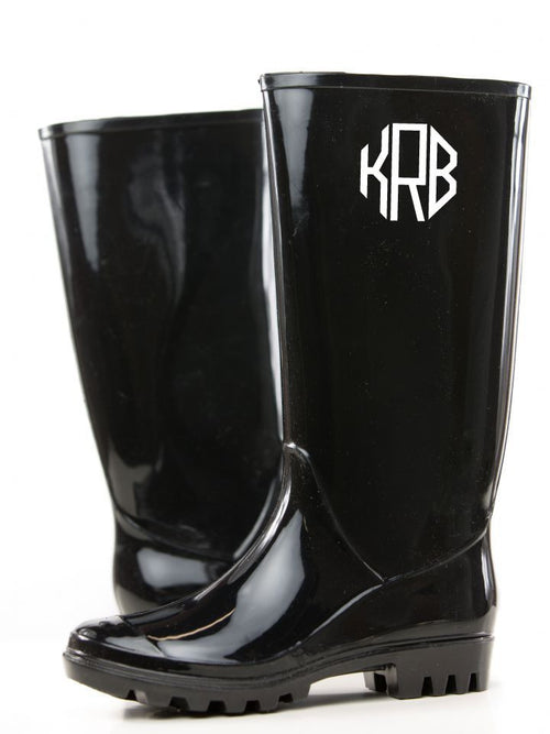 Monogrammed Rain Boots - KABOLILLIE monogrammed gifts