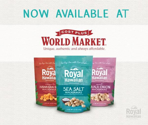 Royal Hawaiian is Now Available at Cost Plus World Market!