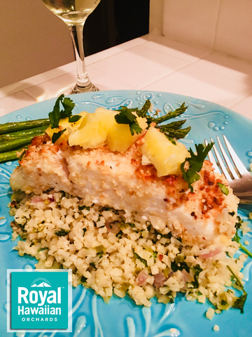 Macadamia Nut Crusted Halibut (Gluten Free and Paleo)