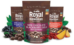 Royal Hawaiian Orchards Dark Chocolate Macadamias