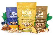 Royal Hawaiian Orchards Fruit & Macadamia Crunches