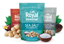 Royal Hawaiian Orchards Roasted Macadamia Nuts