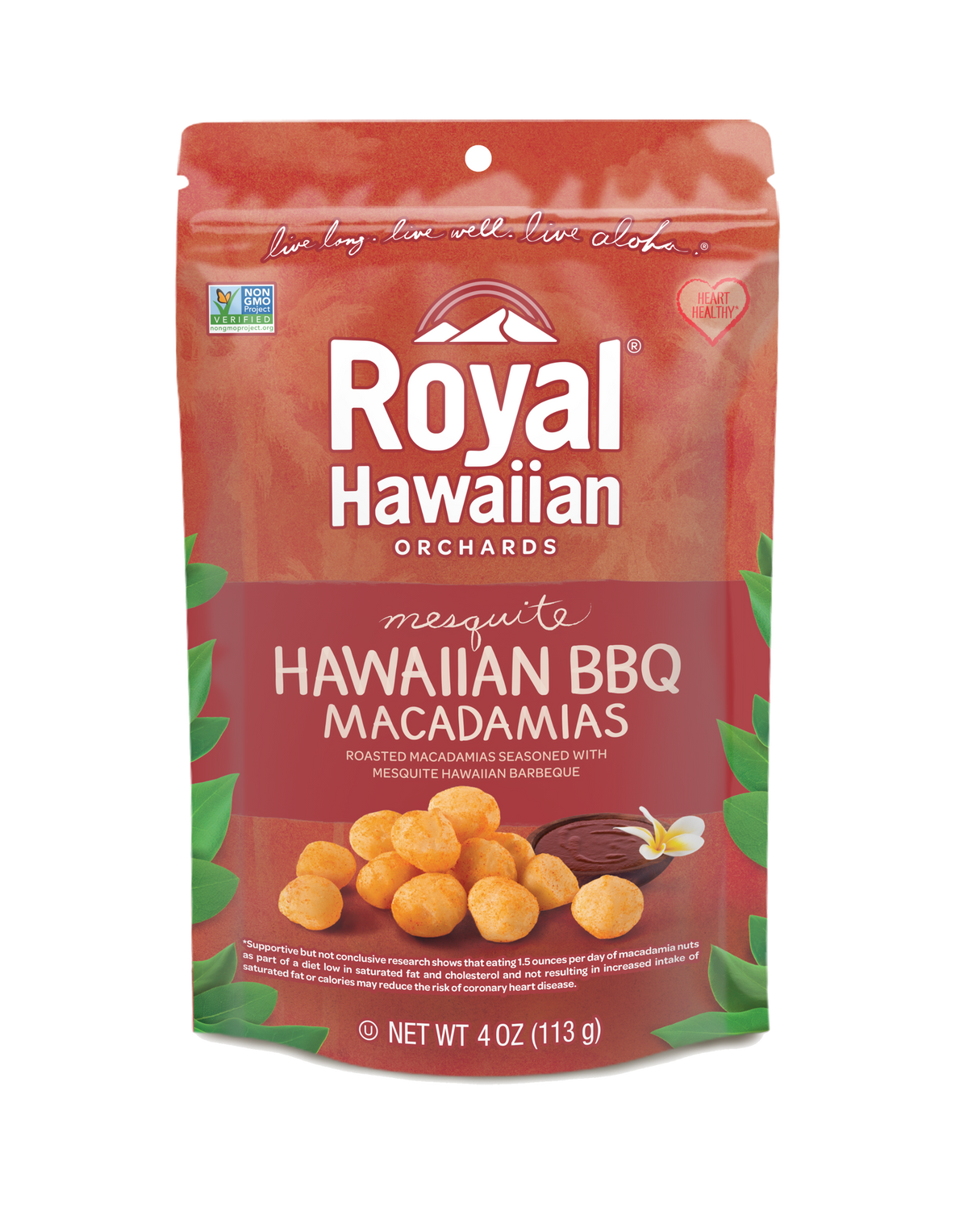 Hawaiian BBQ Macadamia Nuts