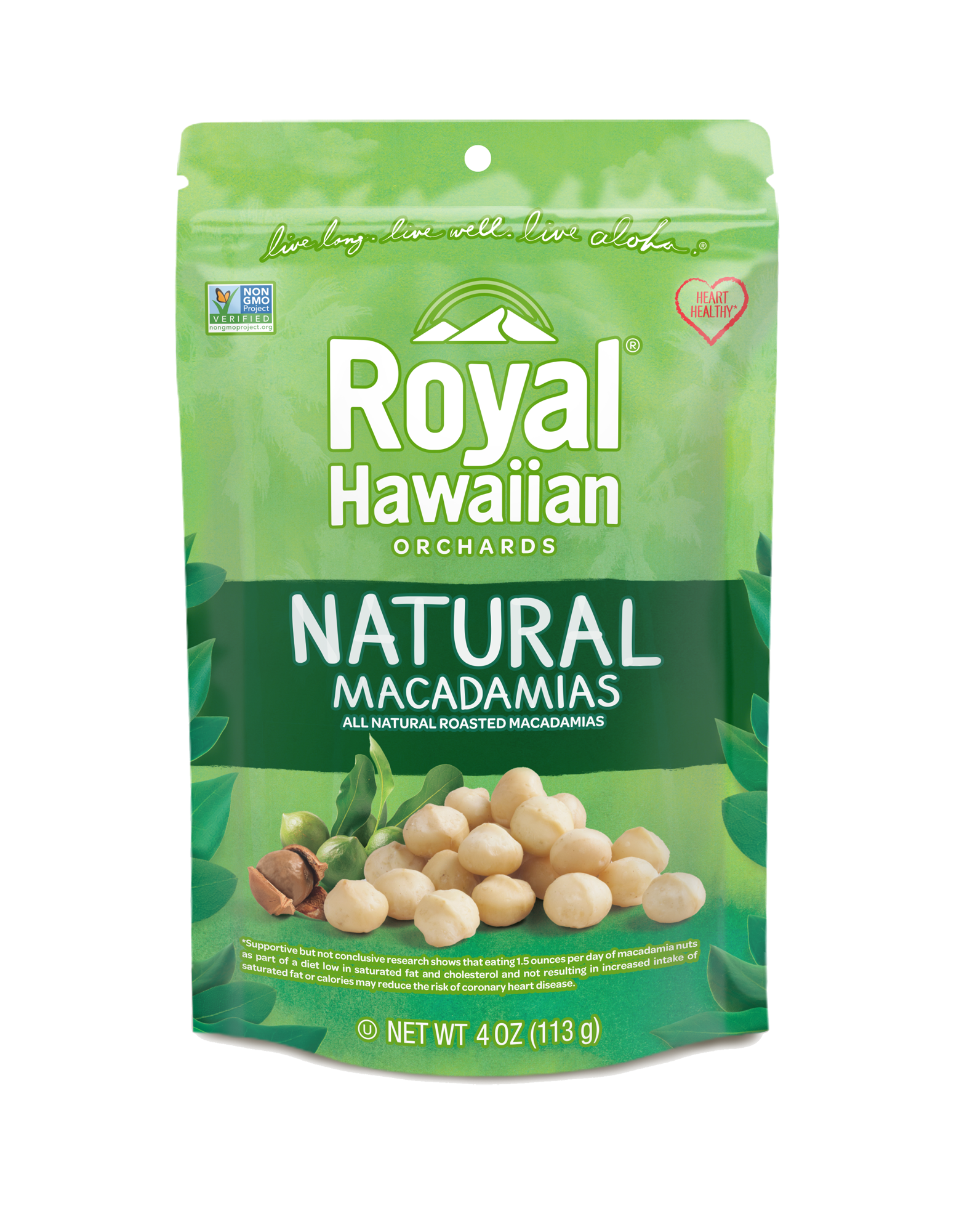 Natural Roasted Macadamia Nuts