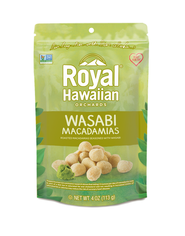 Wasabi and Soy Macadamia Nuts