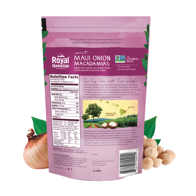 Sweet Maui Onion Macadamias | Royal Hawaiian Orchards
