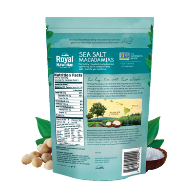 Macadamia Nuts - Sea Salt - Royal Hawaiian Orchards