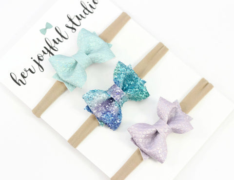 Starfish Wishes Headband or Clip Set - herjoyfulstudio