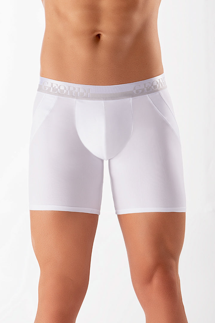 Butt Lifter Long Boxer Briefs Made Of Microfiber (3955)