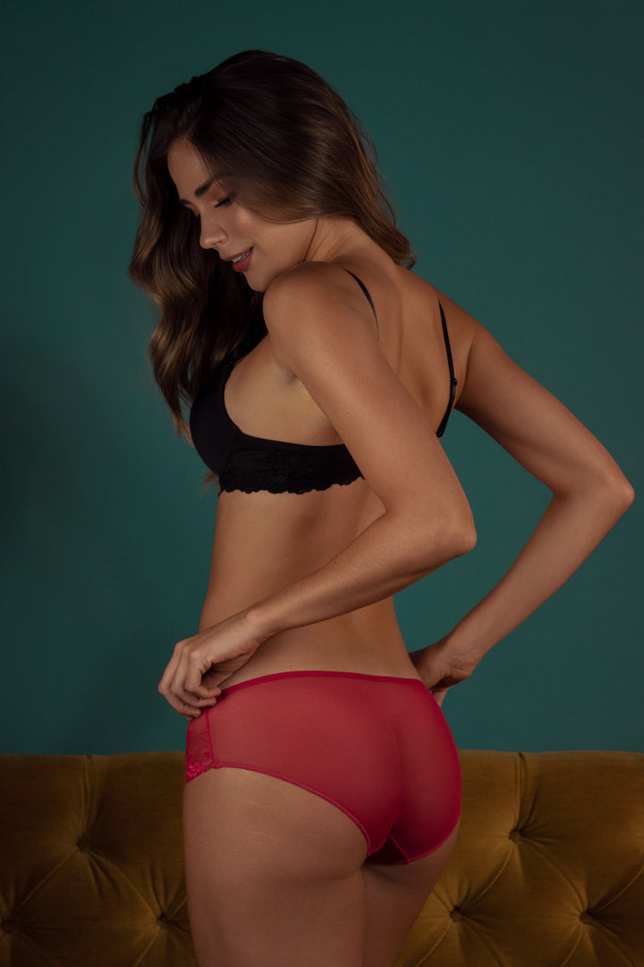 Cheeky Panty Made Of Tulle (020380)