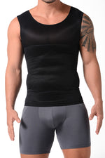 Control Tank-Top Made Of Powernet (002007)