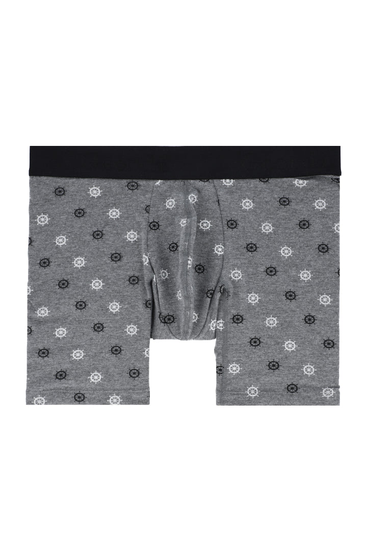 Long Boxer Briefs Made Of Poly-Cotton (GG06L8)