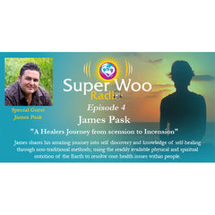 Super Woo Radio Episode 04: A Healers Journey from scension to Incension