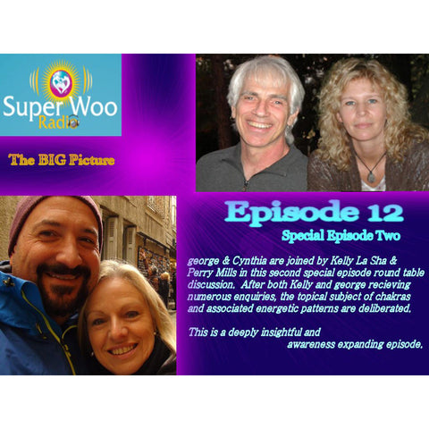 Super Woo Radio Episode 12: Chakras Round Table