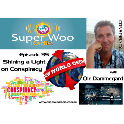 Super Woo Radio Episode 35: Shining a Light on Conspiracy