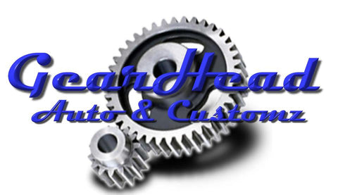 Gearhead Built Components and kits