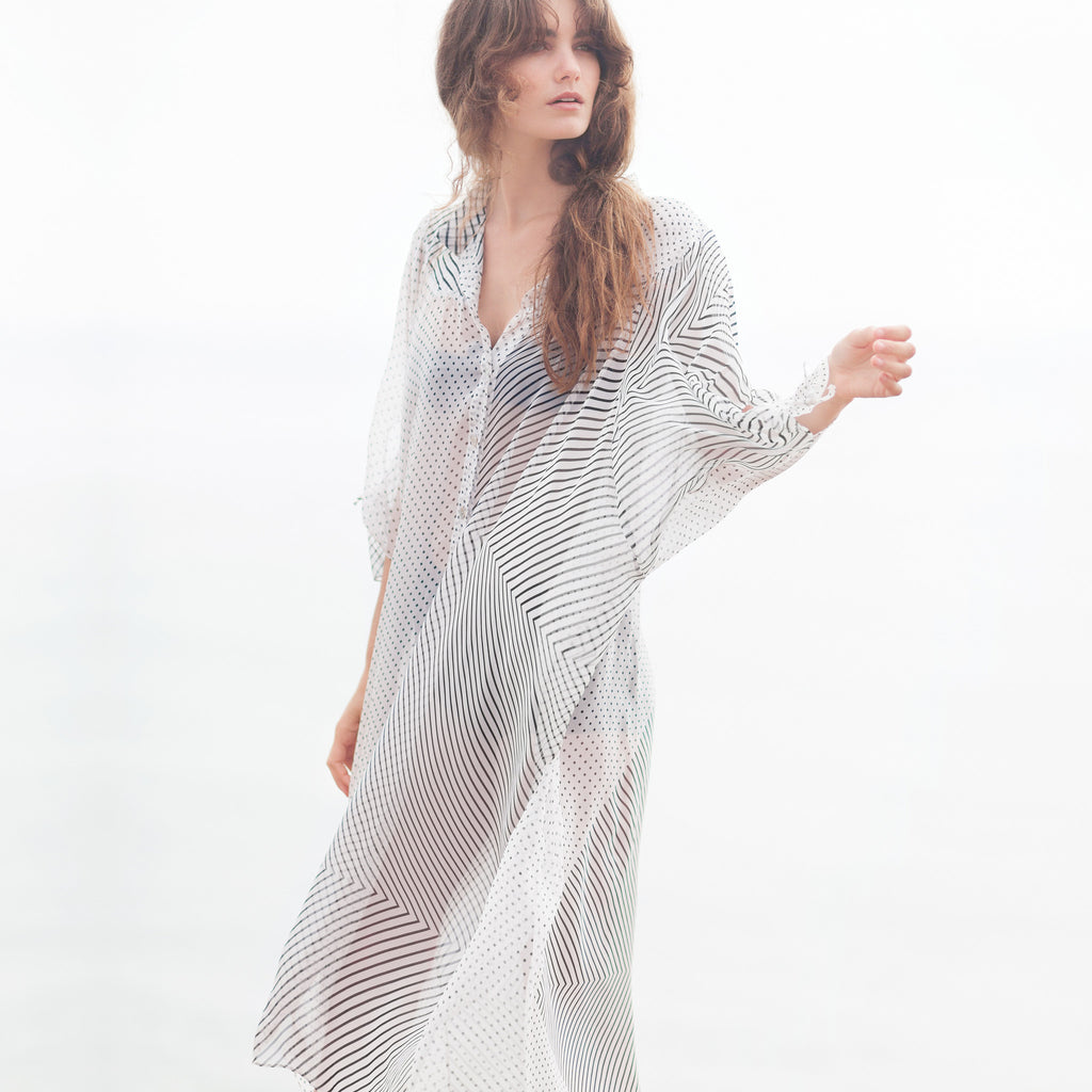The Malibu Long Shirt Dress
