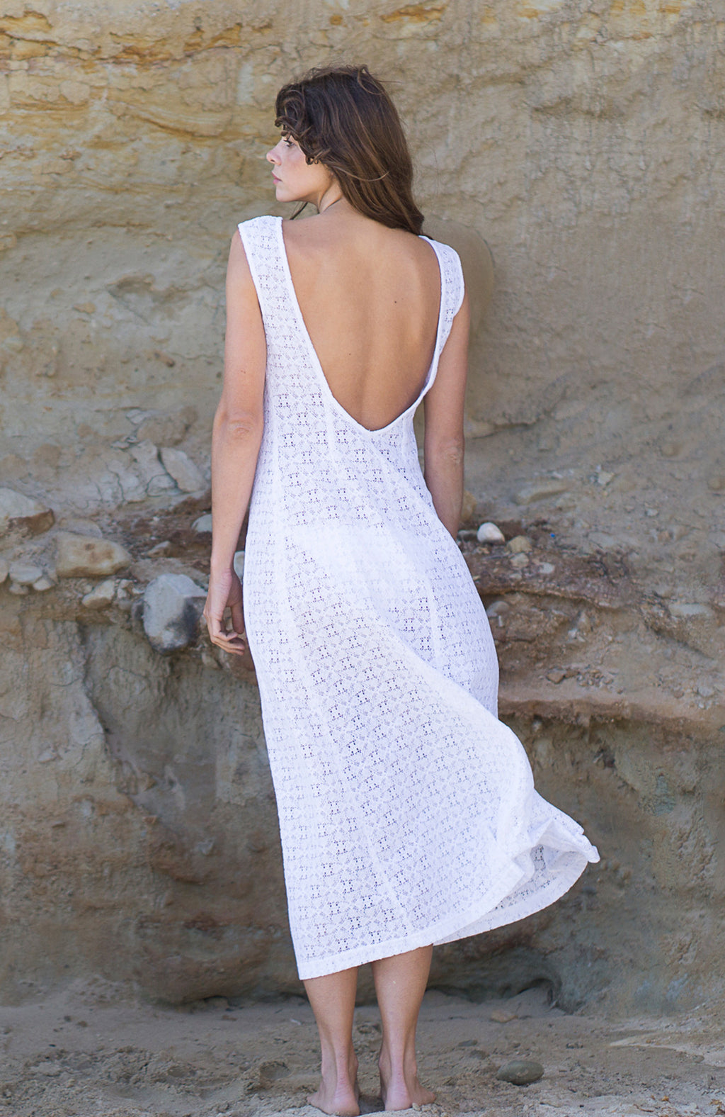 The Amalfi Dress in Lace