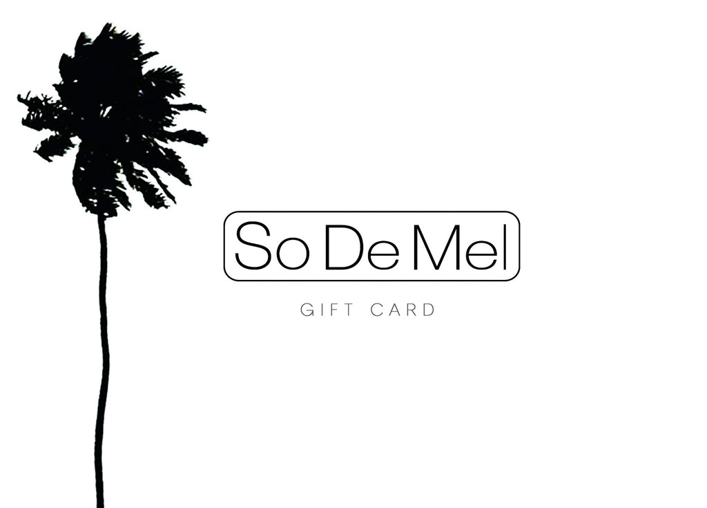 So De Mel Gift Card