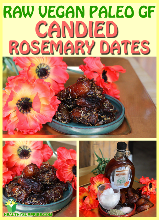 Totally Tasty Candied Rosemary Dates