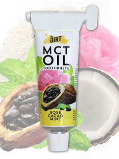 MCT Oil Toothpaste - Rose Cacao Mint Flavor 45g