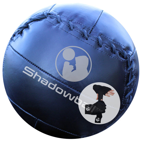 Shadowball Leather + Hybrid Gel Gloves Fitness Pack
