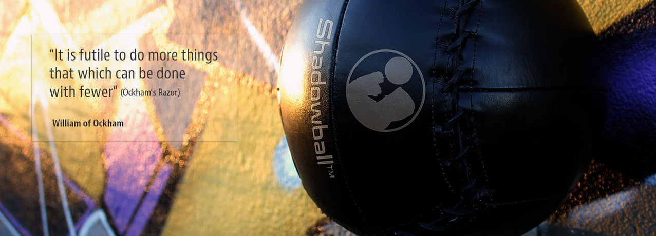Shadowball, world's first portable punching bag