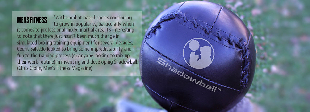 Shadowball article on Men's Fitness